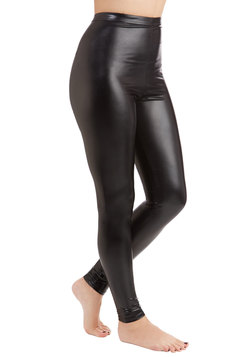 All Shines Point to Yes Leggings in Onyx