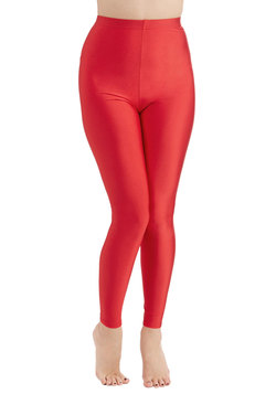 You're the One That I Flaunt Leggings in Red