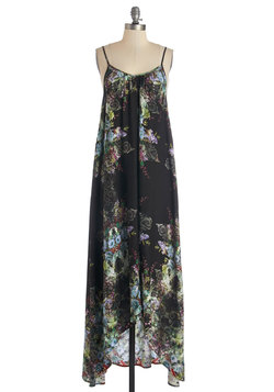 Wish Fulfillment Dress in Kaleidoscope - Maxi