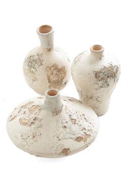 Neutral Terra-tory Vase Set