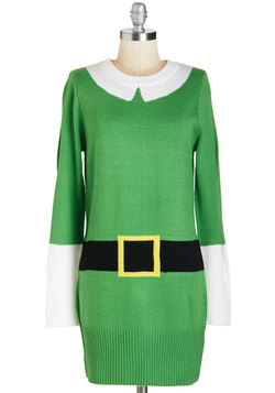 Holiday Sweaters - Elf Respect Tunic