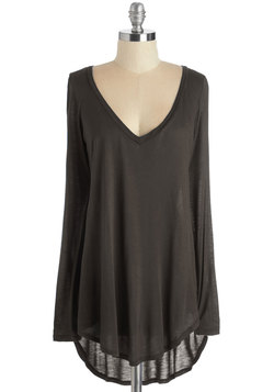 Casual You Need Top in Brown