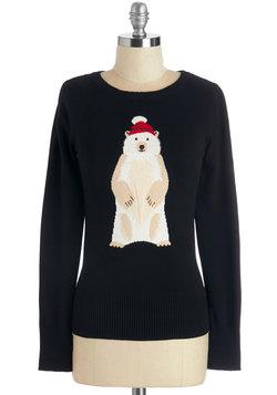 Polar Bear Flair Sweater