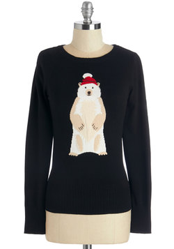 Polar Bear Flair Sweater