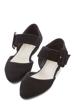 Gait a Second Flat in Black