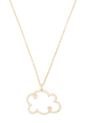 Floating On Cloud Shine Necklace