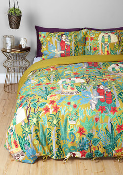 Paint Me a Picture Duvet Cover Set in Full/Queen