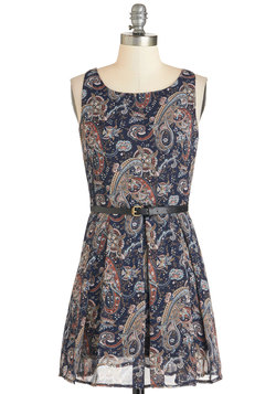 Petal Expert Dress in Paisley