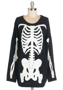 Show and Skeleton Sweater