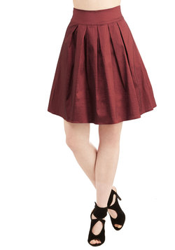 Party Planner Extraordinaire Skirt in Ruby