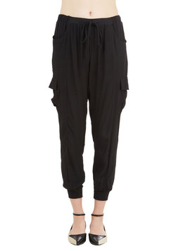 Save the Best for Relax Pants in Black