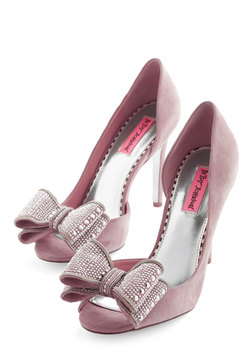 Exquisite Stride Heel in Pink