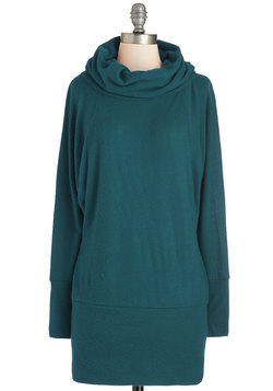 Grace Against the Clock Sweater in Teal
