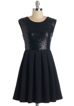 Licorice Luster Dress