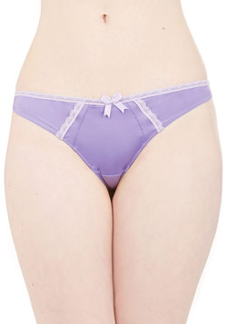 Glowing Grace Thong in Lilac