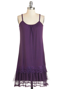 Speakeasy Chic Dress in Violet