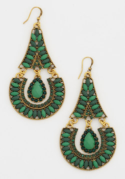 Envious of Emerald Earrings