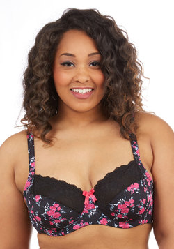 Ponder Poetry Unlined Bra in Plus Size