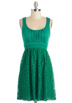 Artisan Iced Tea Dress in Mojito