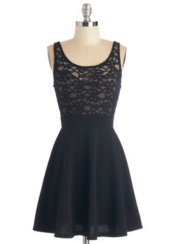 Little Black-Lace Dress