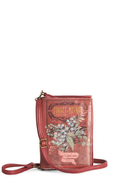 A Natural Choice Clutch in Forget Me Not