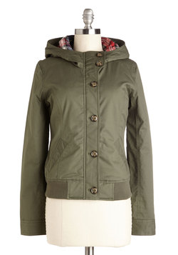 Look and Seattle Jacket in Olive