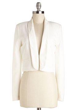 By Innovation Only Blazer in White