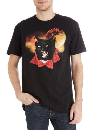 Count Cat-cula Men's Tee