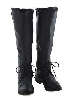 Inclined to Explore Boot in Black