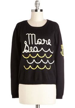 Everyday is Like Sea Day Sweater