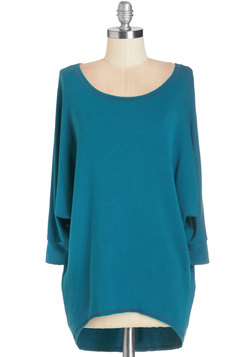 Sports Rapport Top in Teal