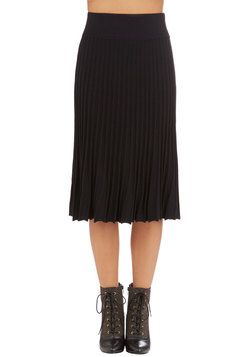 Infinite Influence Skirt in Black
