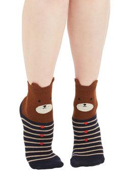 My Bear Lady Socks