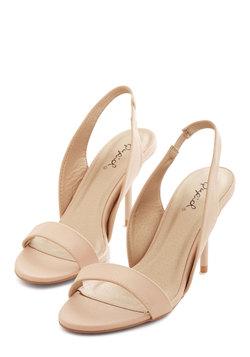 Foxy Ladylike Heel in Beige