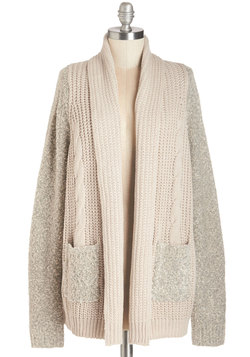 Strike it Cuddly Cardigan