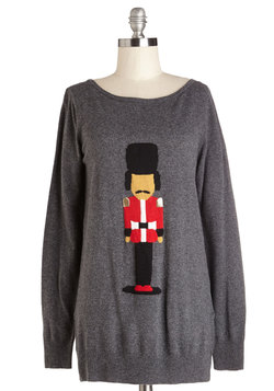 Courtly Nutcracker Sweater