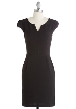 Cove Conference Dress in Black