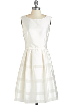 Dinner Party Darling Dress in Ivory