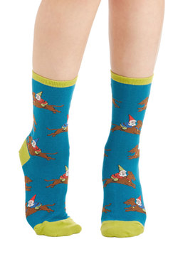 Gnome Man's Land Socks