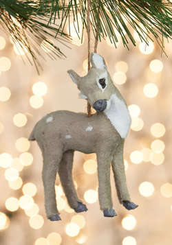 Favorite Time of Deer Ornament