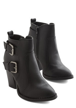 Better with Buckles Bootie
