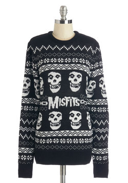 We Wish You a Merry Misfits Sweater