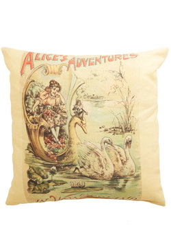 World of Wonderland Pillow
