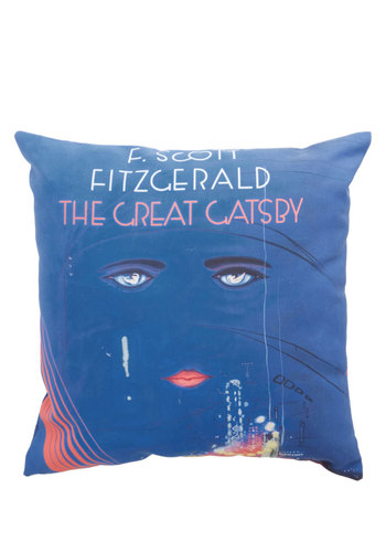 Book Club Cozy Pillow in Jay