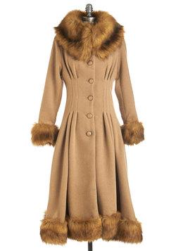 Luxe-y in Love Coat in Camel