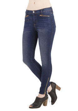 Zip On By Jeans