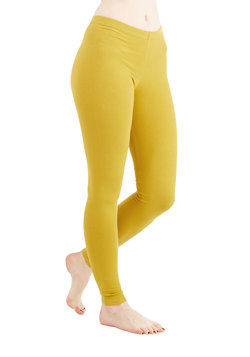 Simple and Sleek Leggings in Mustard