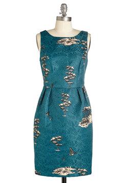 Charming by Nature Dress in Blue