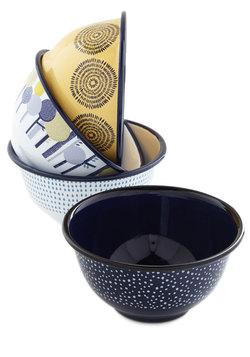 Woodland Whimsy Enamel Bowl Set