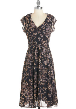 Stealth and Stylish Dress in Night Blossoms